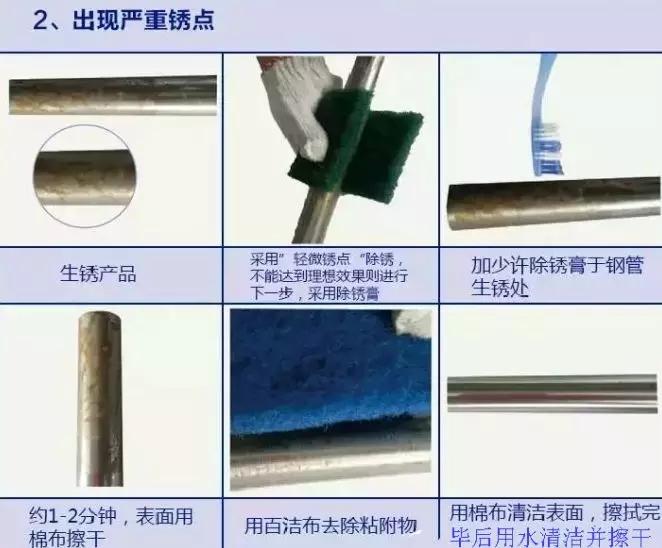 不锈钢会生锈?不锈钢出现了生锈该如何处理?图片